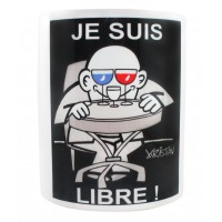 Mug collector France original by the artist Kristian