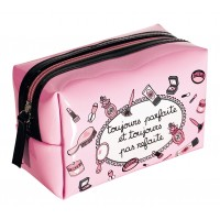 Original trendy travel bag or beauty toilet bag