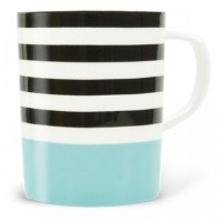 Mug colored Black Lines pattern