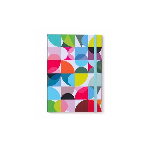 Carnet de note A5 original coloré design motif solena