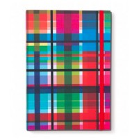 Coloroful Note Book A4 zigzag