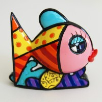 Mini figurine Fish from Romero Britto
