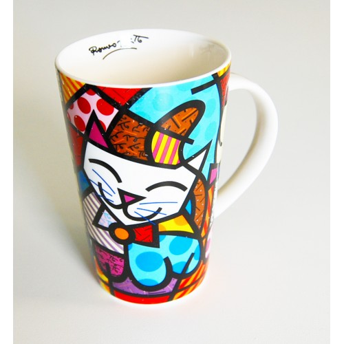 Mug original Chat de Romero Britto