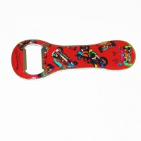 Bottle opener Romero Britto vehicle