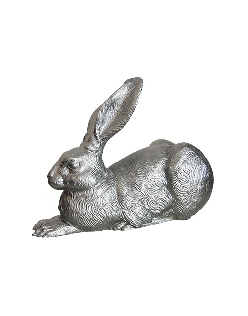 Collection lapin design couleur argent de ottmar h rl for Decoration jardin lapin