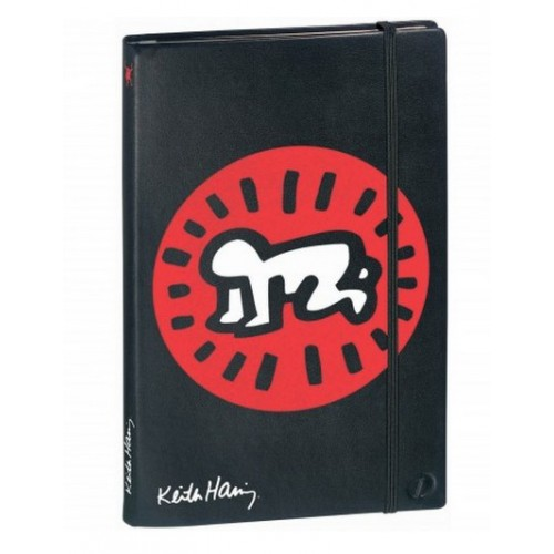 Grand carnet de note original par Keith Haring bébé