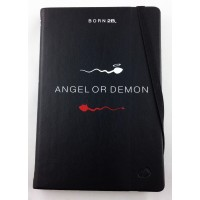 Petit carnet de note original par Born 2B angle or demon