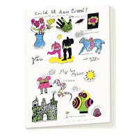 Notebook Could We Have Loved? My Love, My Love by Niki de Saint Phalle