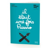 Activity book Once upon a time Picasso by Minus