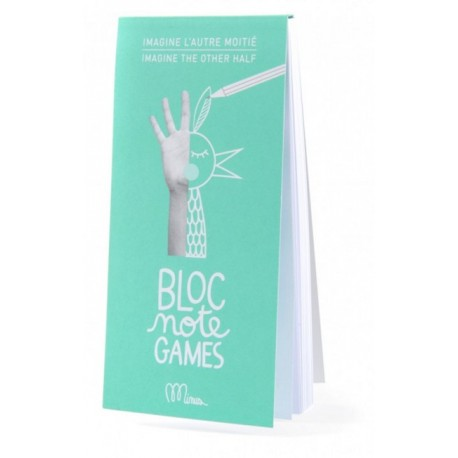 Bloc note games Transform these objects by Minus