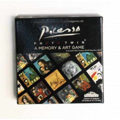 A memory and Art Game Picasso
