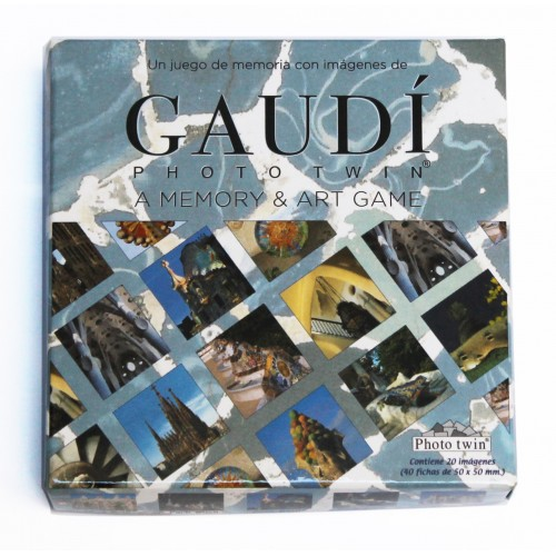 A memory and Art Game Gaudi