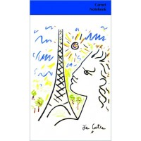 Notebook illustred by Jean Cocteau