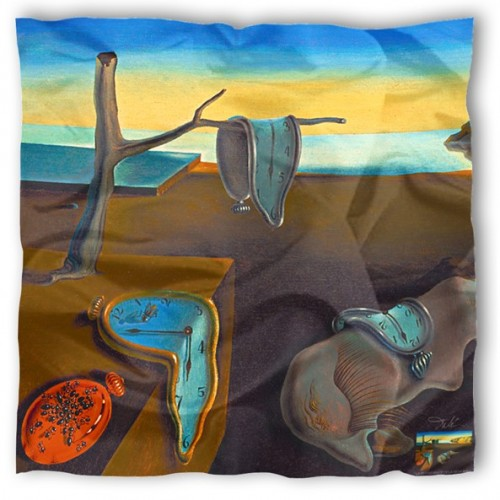 Silk scarf collector by the artist Dali