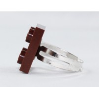 Lego ring by the french creator Sno0oze