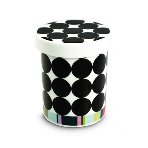 Pot en porcelaine motif Scoop