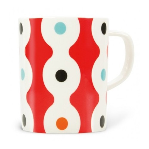 Mug colored Dots pattern