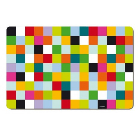 Placemats Mosaic colored pattern