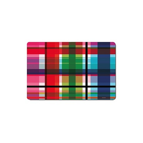 Placemats Zigzag colored pattern