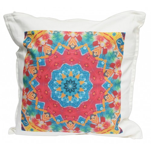 Cushion limited edition Mandala by the artist Noé Roussel