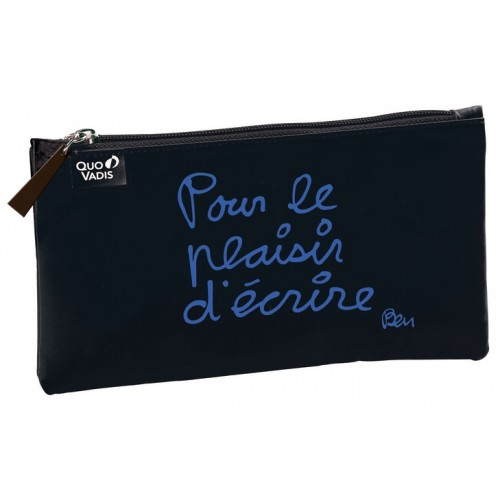 "Pencil School case By French artist ben ""For the pleasure to write"""