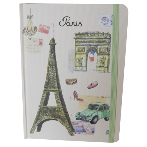 Big notebook eiffel tower Paris Martine Rupert ecologic