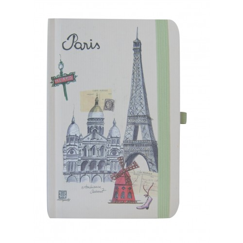 little notebook eiffel tower Paris Martine Rupert ecologic