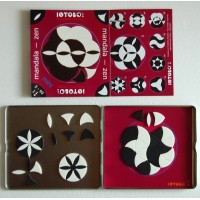 IOTOBO game Fleur de Vie with 60 pieces and one book with 35 exemples