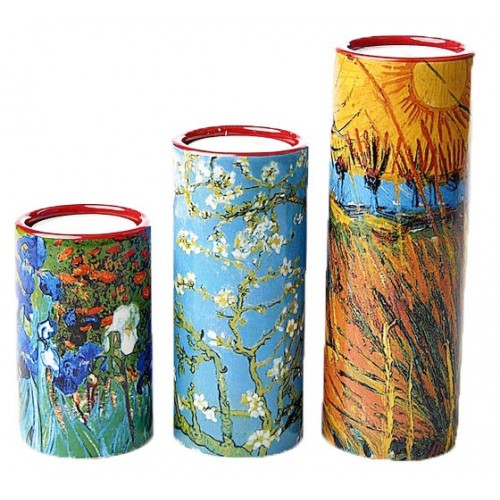 Set de 3 bougeoirs Van Gogh
