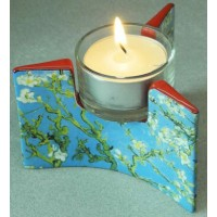 Tealight candle holder Almond Blossom by Van Gogh