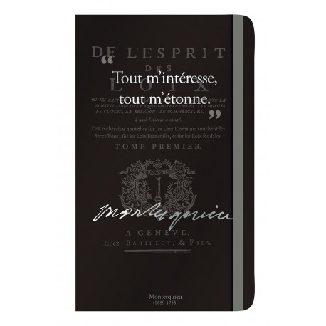Notebook with a quote of Victor Hugo
