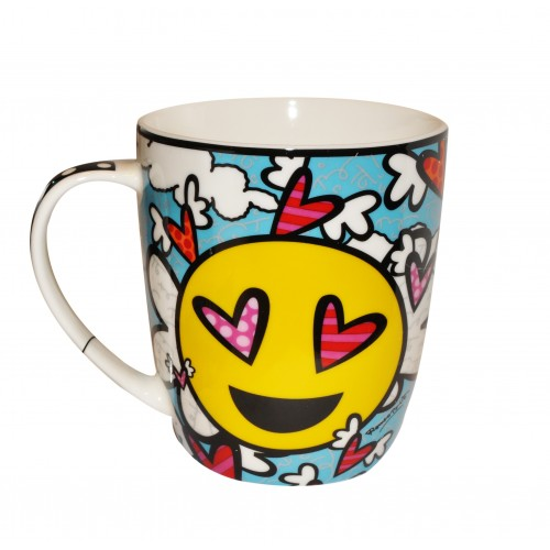 Mug smile heart by Britto