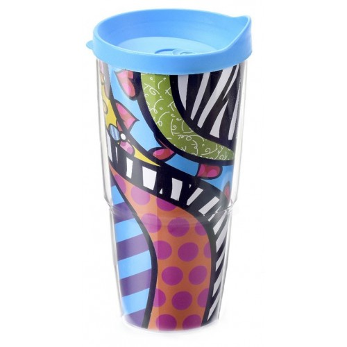 Mug thermos Safari de Roméro Britto
