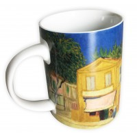 Collector mug The Yellow House by the famous artist Van Gogh