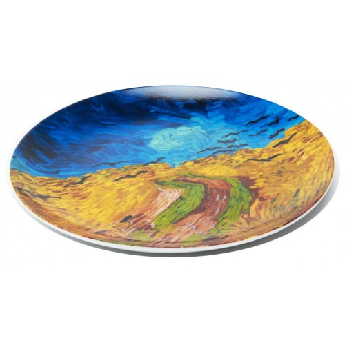 Original plate of collection Van Gogh Wheatfield with Crows