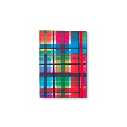 Coloroful Note Book A5 zigzag