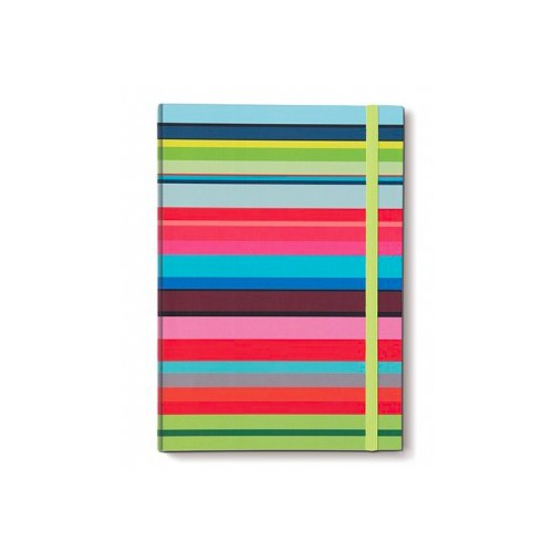 Coloroful Note Book A4 stripes