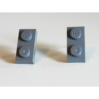 Lego earings grey