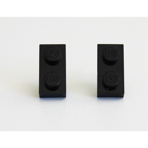 Lego earings black
