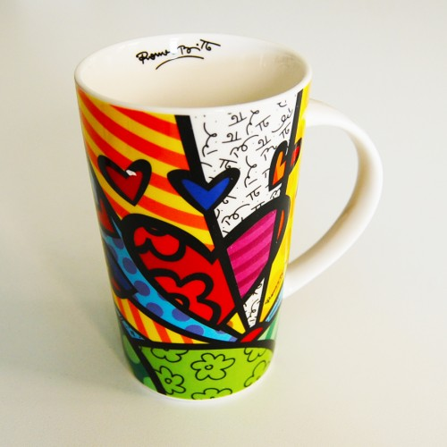 Mug original New Day de Romero Britto