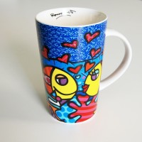 Mug Fish by Romero Britto