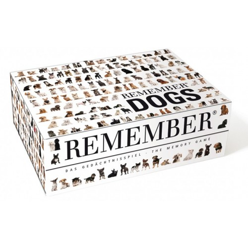 Memory and Art Game dogs