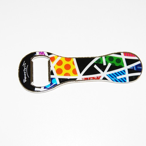 Bottle opener Romero Britto Landscape