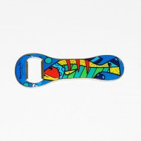Bottle opener Romero Britto Fish