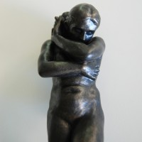 Sculpture collection color bronze Eve by Rodin