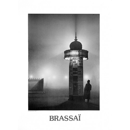 Poster of the artist Brassaï