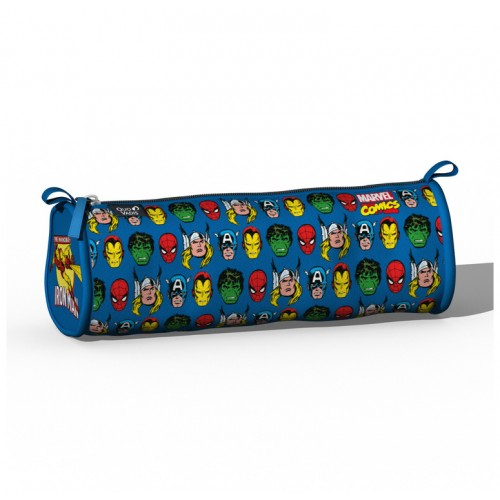 Pencil School case Marvel Comics blue