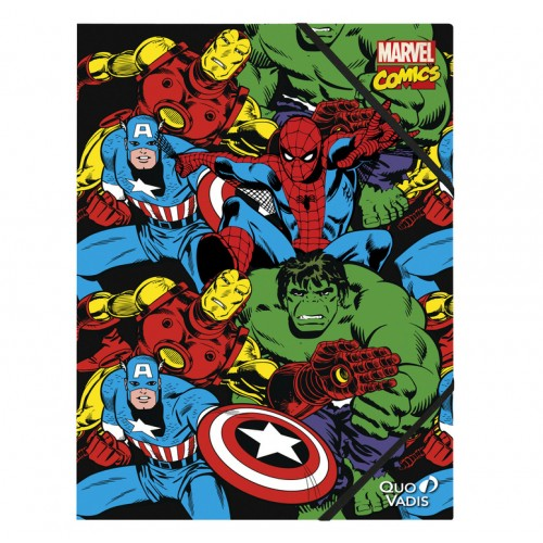 Folder A4 document office Marvel Comics