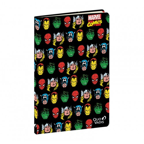 Notebook marvel characters 9x14cm