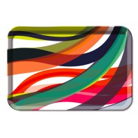Tray wave pattern small size